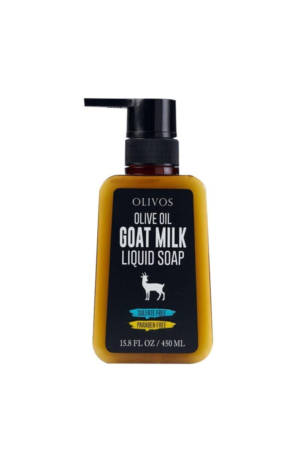 Olivos Olıvos - Zeytinyağlı Keçi Sütlü Sıvı Sabun 450ml 1