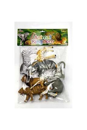 Vardem Oyuncak Vahşi Hayvan Seti 6 Parça 20 cm
