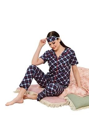 walkie Kadın Lacivert Pijama Takımı