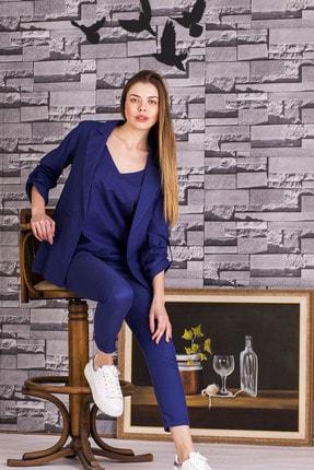 STAMINA Kadın Stamina Kolları Aparatlı Ceket-5ck01