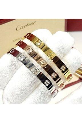 KOBA Kadın Gold Cartier Kombin Bileklik