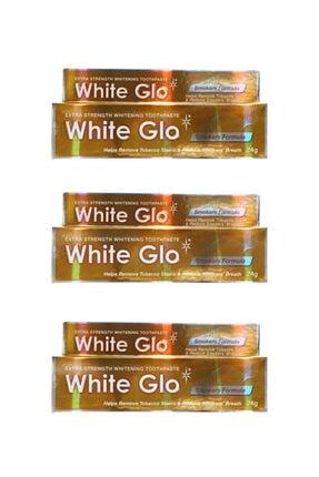 White Glo Sigara Içenler Için Diş Beyazlatıcı Diş Macunu Avantaj Paket X 3 Adet 24 gr