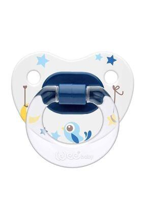 Wee Baby Silikon Damaklı Desenli Emzik No:3