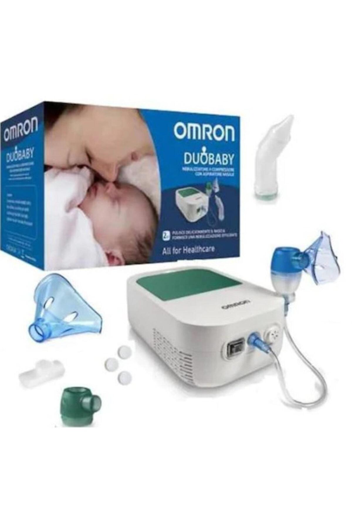 Omron Duo Baby Nebulizatör Ve Burun Aspiratörü 1
