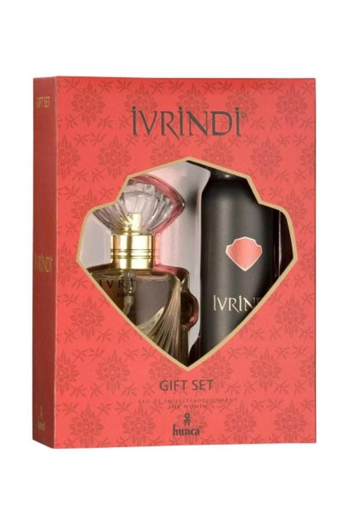 Ivrindi Edt 55 ml+ Deodorant 150 mlKadın Parfüm Seti 1