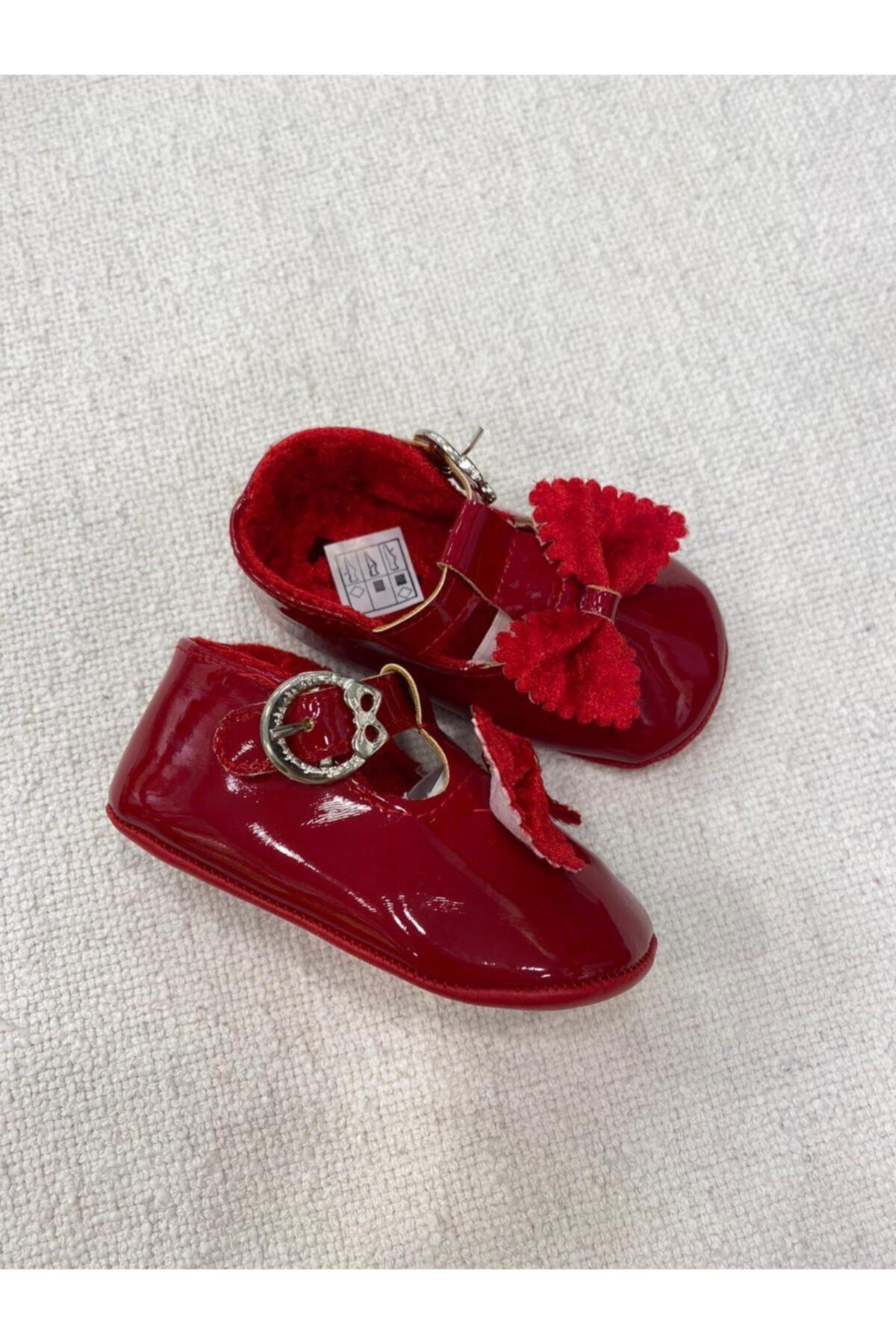 Funny Baby Kız  Bebek Kırmızı Ayakkabı 2