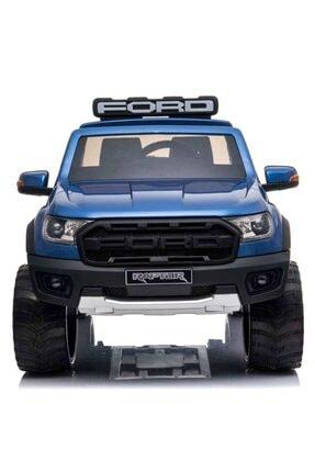 Ford Lisanslı 24v Çift Akülü Ranger Raptor Pikap 4 Motorlu Gerçek 4x4 Tablet Ekranlı Akülü Araba Jeep