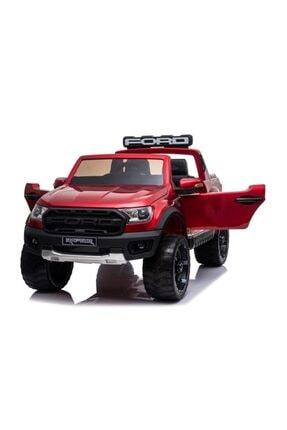 Ford Lisanslı Ranger Raptor Tablet Ekranlı 24v Çift Akülü Araba 4 Motorlu Gerçek 4x4 Akülü Pikap Jip