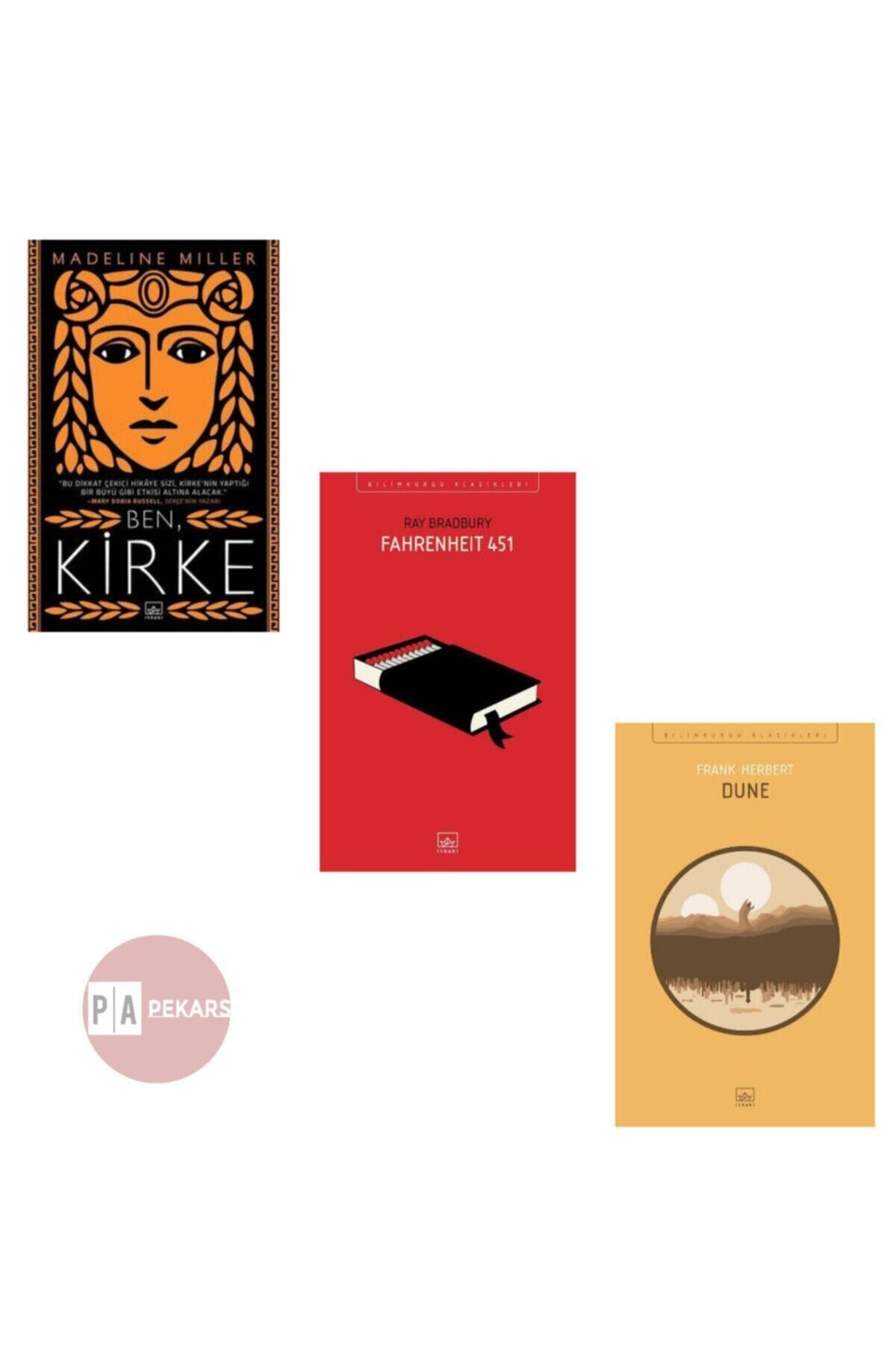 İthaki Yayınları 3'lü Set: Ben Kirke, Fahrenheit 451, Dune 1