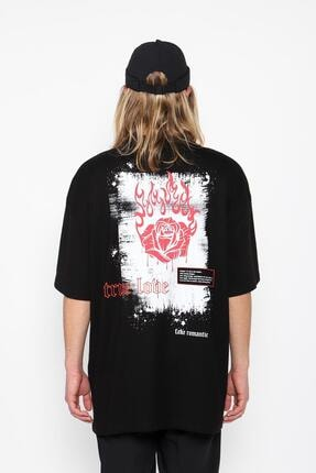 Oksit Mach1347 True Love Oversize T-shirt