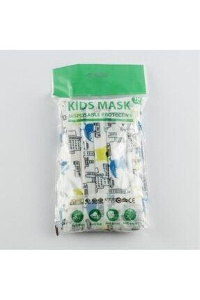 Peyless 10 Adet Tek Kullanımlık Cerrahi Çocuk Yüz Maskesi