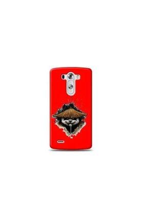 Ren Geyik Lg G3 Mini Panda Kırmızı Koleksiyon Telefon Kılıf Y-krmklf096