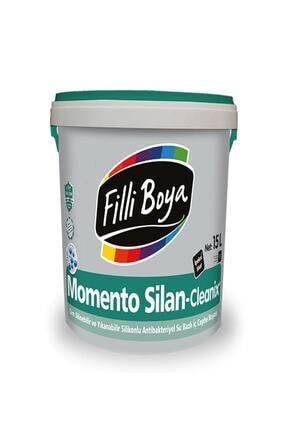 Filli Boya Momento Silan-cleanix Antibakteriyel Silikonlu Iç Cephe Boyası 7,5 L. Humus