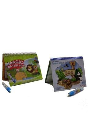Magic Water 2'li Set Sihirli Boyama Kitabı