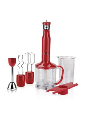Raks Hot Mix 1700 W Blender Seti Kırmızı