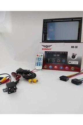 Pioneer Sunsay 7 Inc Double Oto Teyp Bluetooth Usb Sd Kart Mirrorlink Park Kamera Hediyeli 7018b