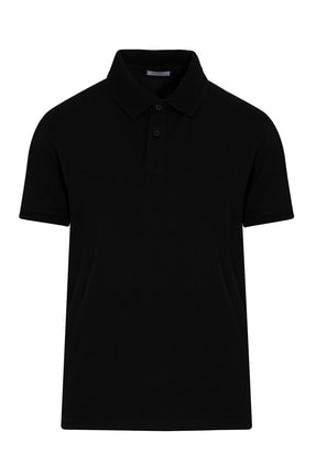 Hatemoğlu Siyah Polo Yaka Tişört