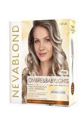 Neva Blond Ombre Ve Babylights Saç Boyama Seti