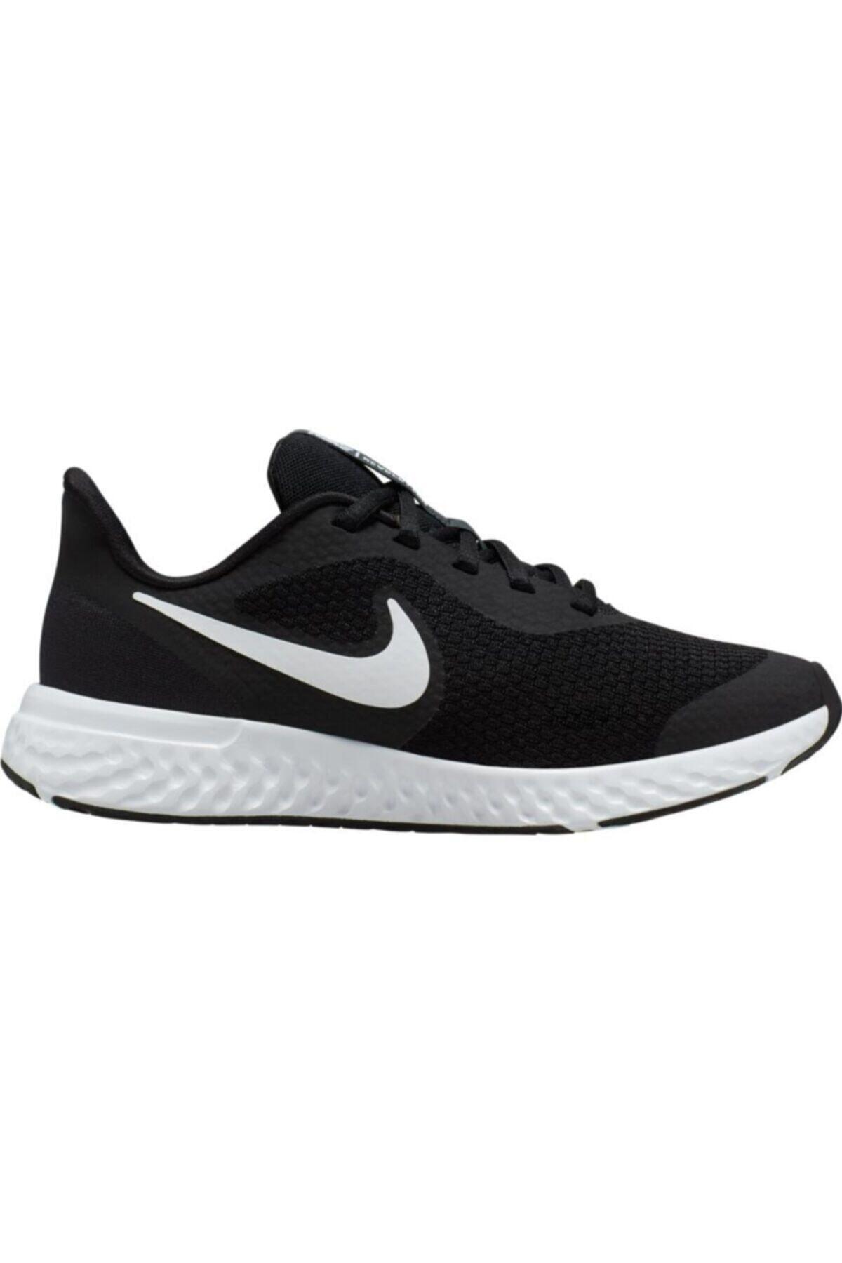 Nike Unisex Çocuk Siyah Revolution 5 Gs Ayakkabı Bq5671-003 1
