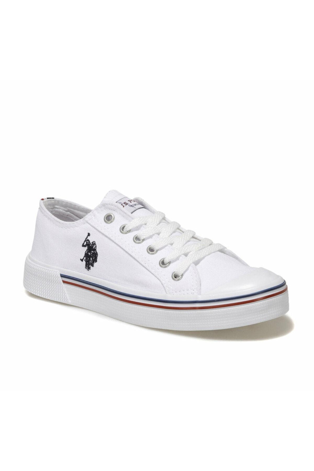 U.S. Polo Assn. PENELOPE 1FX Beyaz Kadın Havuz Taban Sneaker 100696337 1