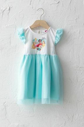 LC Waikiki Kız Bebek Açık Turkuaz Fve Elbise