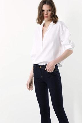 Network Kadın Regular Fit Beyaz Gömlek 1078912