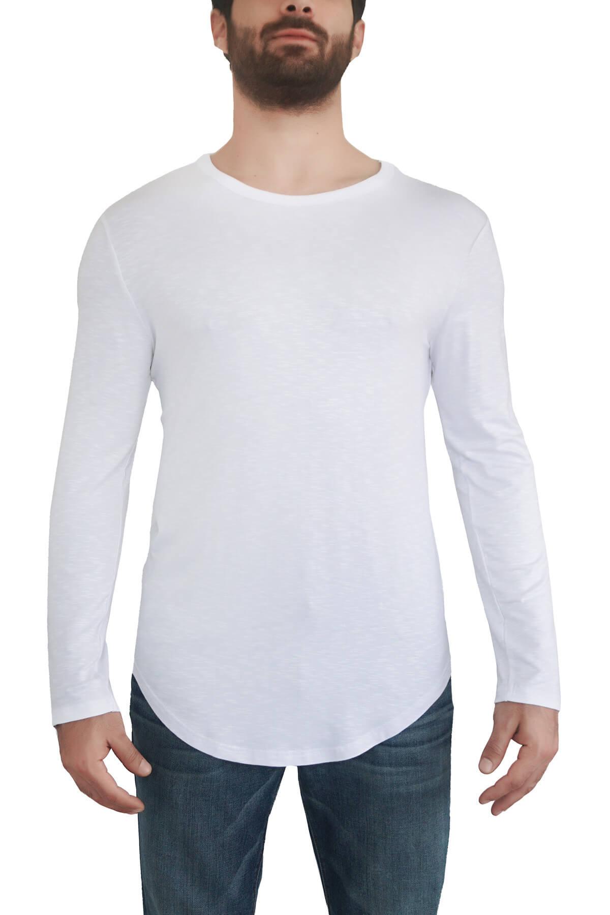 MOF Erkek Beyaz T-Shirt SYUKOET-B 1