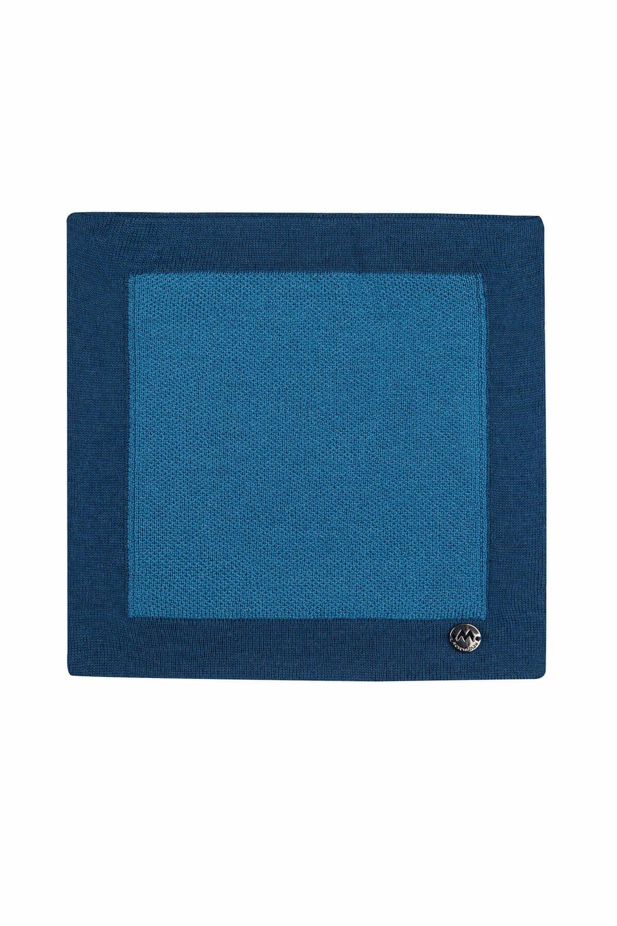 Hemington Erkek Mavi  Merino Yün Mendil  - 184951012 1