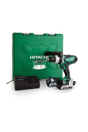HITACHI Hitachi Dv18Dsdl 18Volt/5.0Ah Li-Ion Çift Akülü Profesyonel Darbeli Matkap