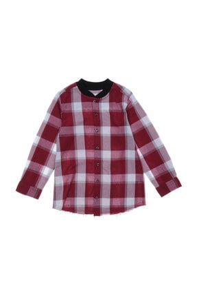 Panço Bordo Erkek Çocuk Gömlek