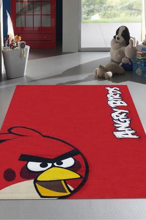 Merinos Lisanslı Angry Birds RED Çocuk Halısı