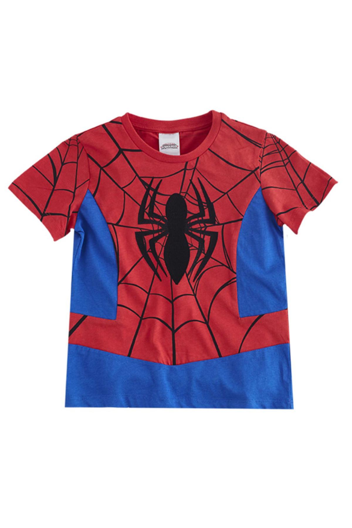 Soobe Ultimate Spider-Man Kısa Kol T-Shirt  Kırmızı   15YECTSRT1324_17-1563 1