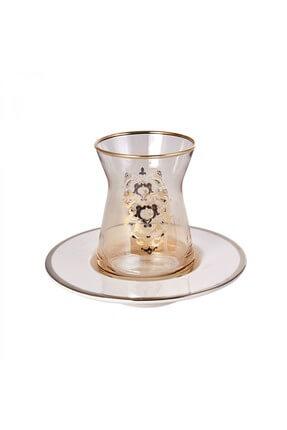 Karaca Rumi 12 Parça Çay Seti Amber