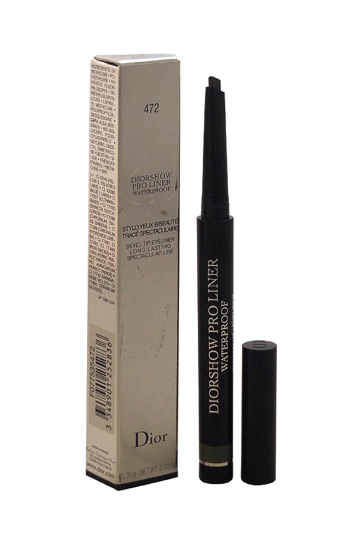 Dior Suya Dayanıklı Eyeliner - Diorshow Proliner Khaki 472 3348901252836 1