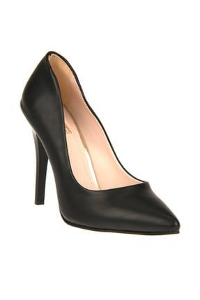 Ziya Siyah Kadın Topuklu Ayakkabı 9176 2236