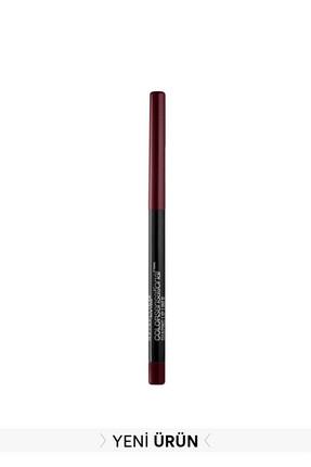 Maybelline New York Dudak Kalemi - Color Sensational Lip Pencil 96 Plum Passion 3600531496272