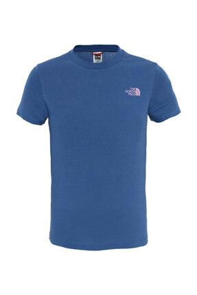 THE NORTH FACE Sımple Dome Çocuk T-Shirt Mavi