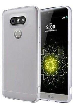 LG G5 Kılıf Şeffaf Hibrit Silikon Esnek Tam Koruma