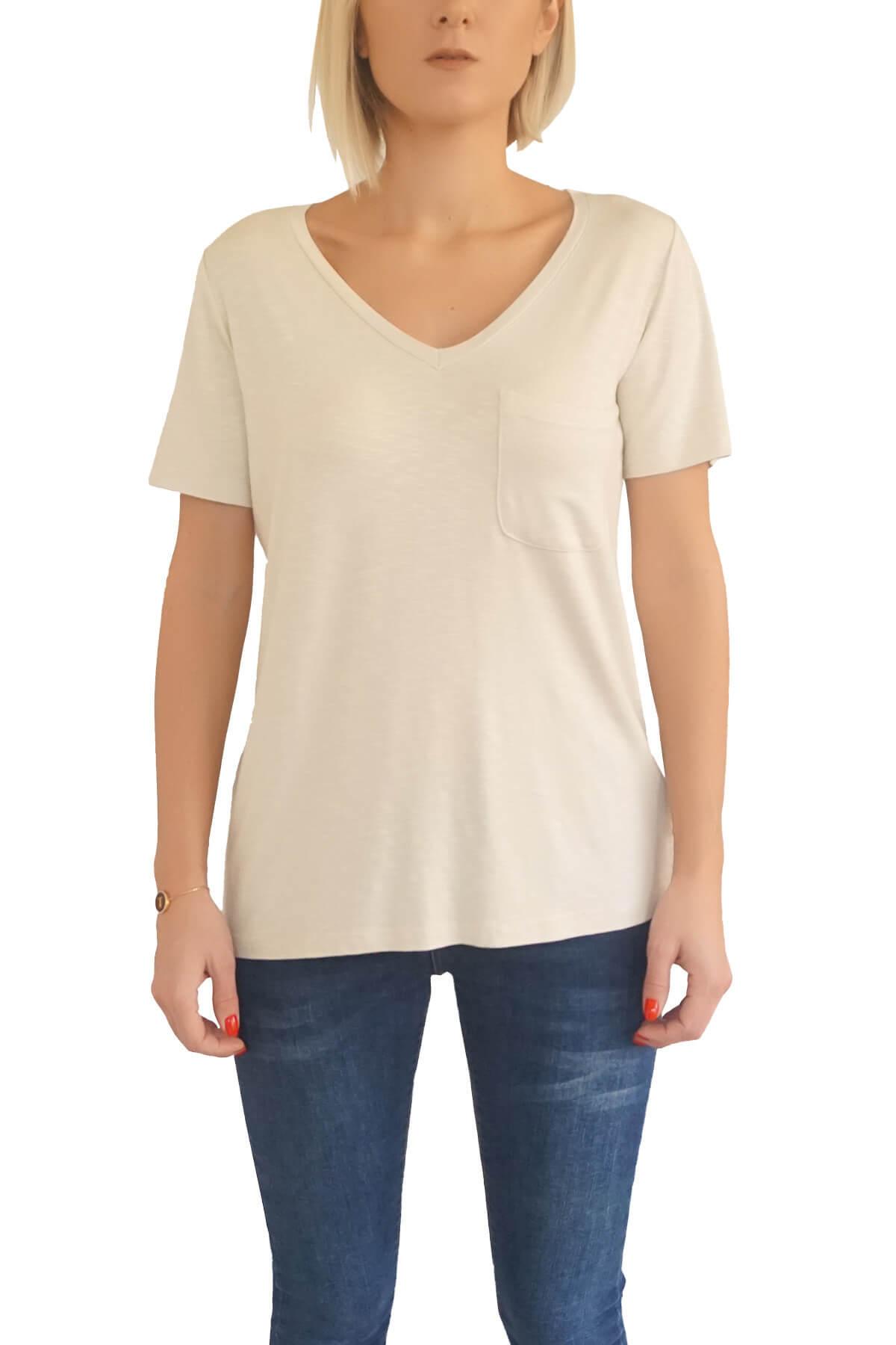 MOF Kadın Taş T-Shirt VYCT-T 1