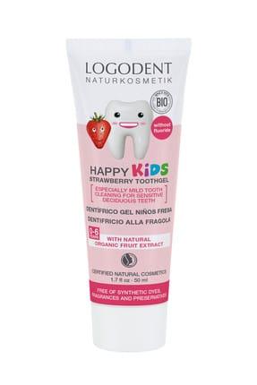 Logona 0-6 Yaş Çocuklar İçin Çilek Özlü Organik Diş Macunu - 50 ml