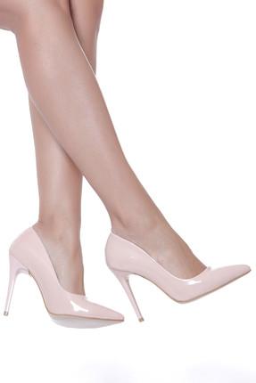Shoes Time Pudra Kadın Topuklu Ayakkabı 18Y 708