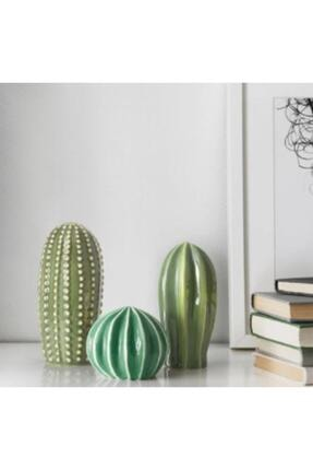 IKEA Sjalslıgt Dekoratif Set 3'lü Kaktüs