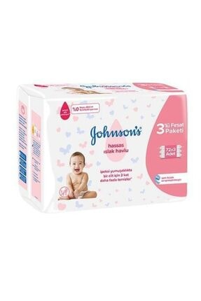 Johnson´s Baby Jb.baby Islak Havlu Hassas 3 Lüfırsat