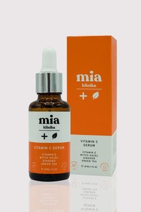 mia klinika Aydınlatıcı C Vitamini Serum  Gözenek Sıkılaştırıcı 30 ml