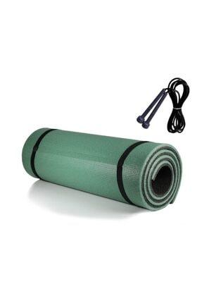 COPA SPORTS Pilates Minderi & Yoga Mat Çift Taraflı + Atlama Ipi