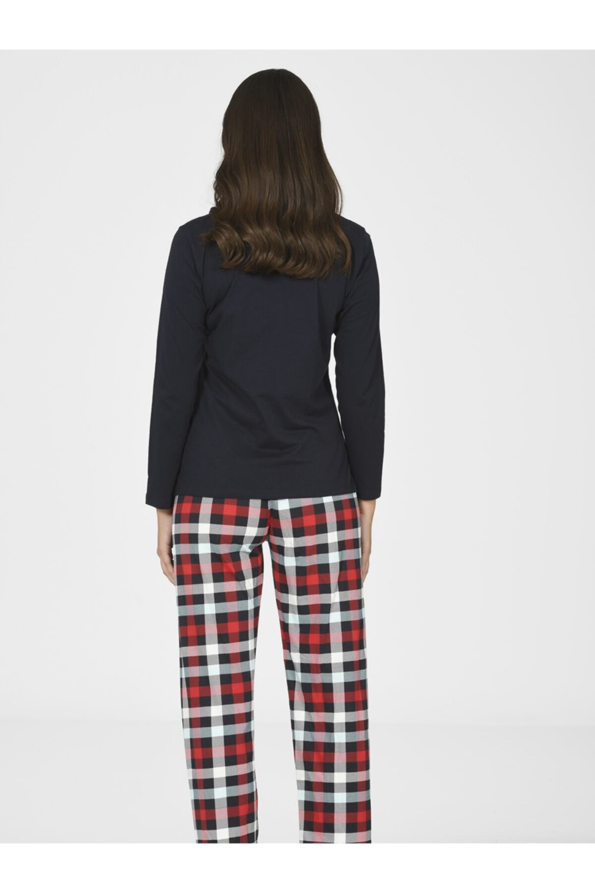 NBB Kadın Kırmızı Dear Bad Pijama Takımı 66802 2