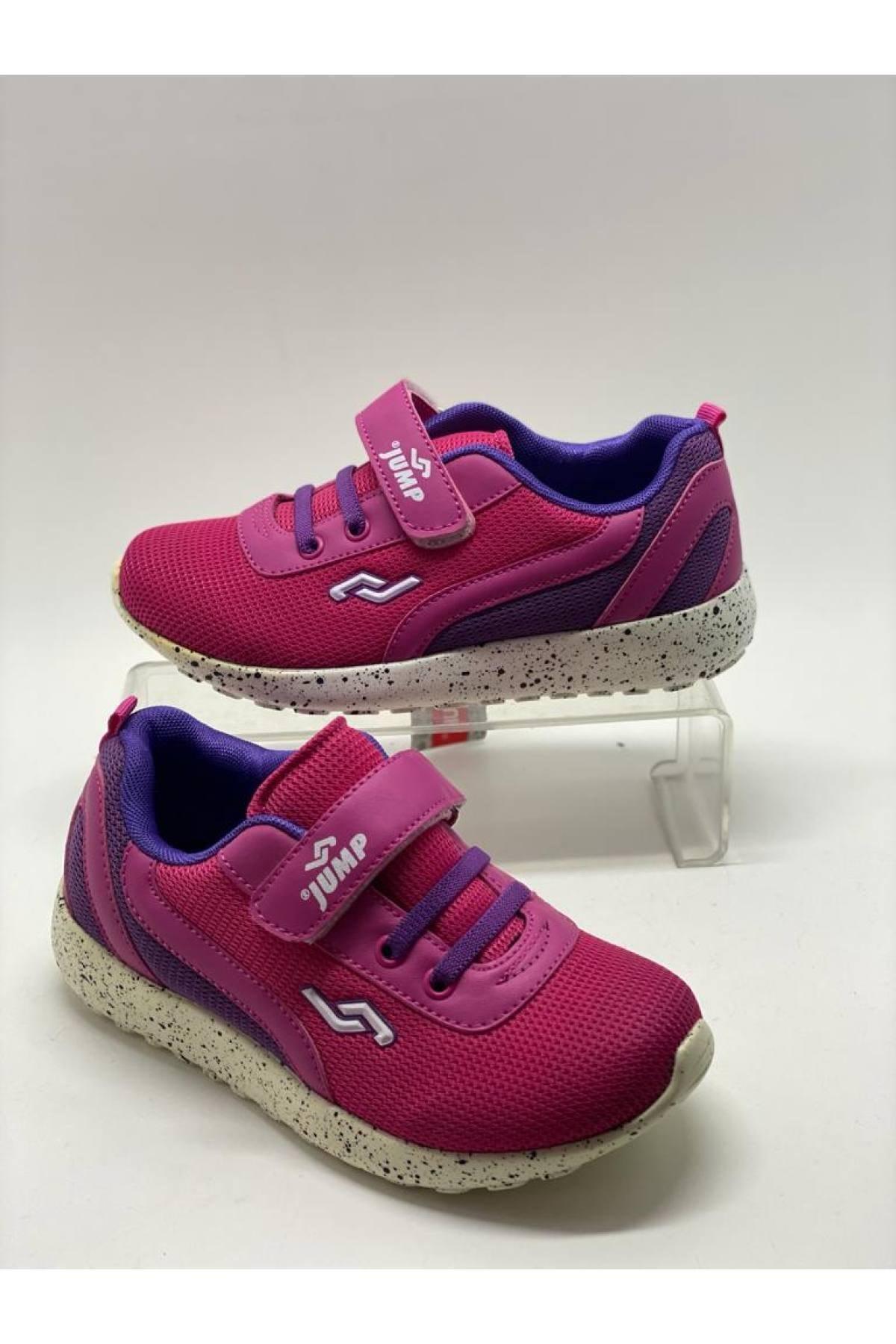 Jump Kız Çocuk Pembe Spor Ayakkabı 1