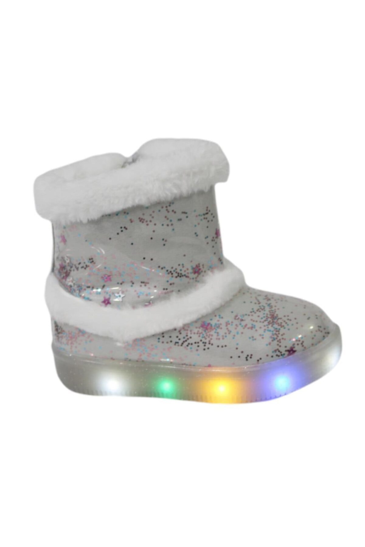 Vicco 220.p20k.108 Beyaz (26-30) Işıklı Çocuk Ayakkabı Bot 2