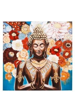 Mudo Concept Colorful Buda Yağlıboya Tablo 100x100 Cm