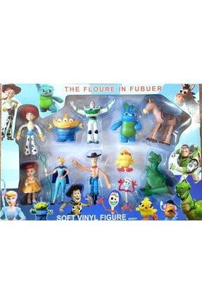 Toy Story Woody Buzz Jessıe Bullseye 11 Figürlü Set Oyuncak